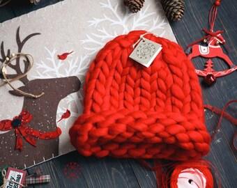 Super Chunky Hat, Knit Hat, Slouchy Hat, Helsinki Hat, Merino Wool Hat, Slouchy Beanie, Winter Hat, Womens Winter Hat