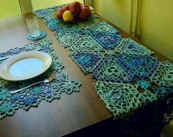 Crochet Table Setting