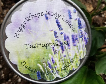 HappyWhips Sunshine & Lavender Body Lotion by TheHappySpa