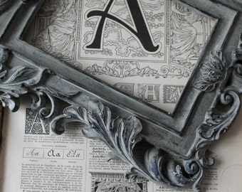 -Letter A B - letter C - letter D - letter E /Larousse former 1925 - Larousse 20 X 29 cm old /Affiche - choice Page: A B C D E