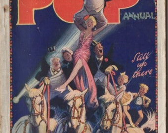 1950s POP Annual - UK Newspaper strip