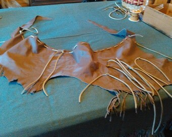 Cow Hide Sash