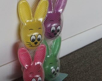Fill or Hang Four Pack of Easter Bunny Eggs