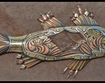 The Stately Lady Steampunk Fish