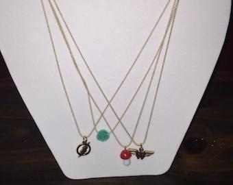 Dainty Charm Necklace