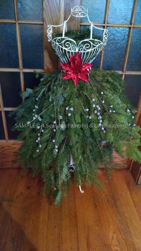 Christmas Tree Dress Form Pdf Tutorial By Designing4seasons