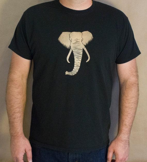 Elephant t shirt bleach design men 39 s shirt original for Elephant t shirt women s