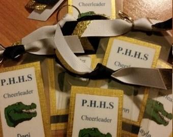 Cheerleading Luggage Tags, Bag Tags