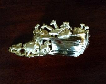Noah's Ark Brooch