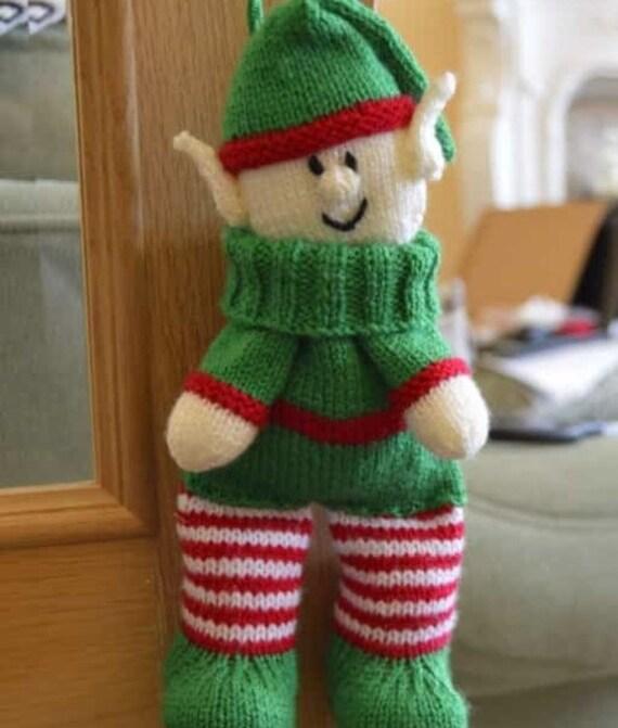 Elf Knitting Pattern Elf Backpack Knitting Pattern Elf Gift