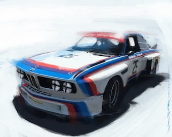 BMW 3.0 CSL Racing Series