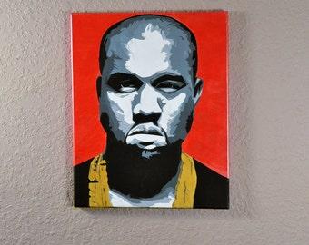 Kanye West Painting 16x20