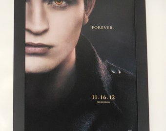 "Twilight Breaking Dawn Part 2 ""A"" FRAMED 11.5x17 Movie Poster Custom Wood Frame"