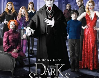 Dark Shadows 11.5x17 Promo Movie Poster