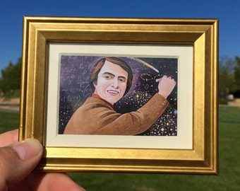 Carl Sagan Etsy