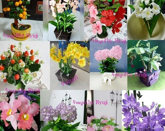 Flower clay for decoration