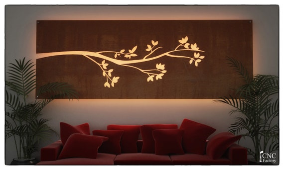 Wall light panel silhouette cnc template cutting file wall light panel silhouette cnc template cutting file lighted floating wall panel plasma cut home design idea svg cutting files laser aloadofball Image collections