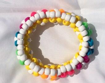 Rainbow Reversable Bracelet