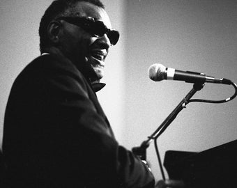 Vintage Ray Charles Live in NYC, 1980