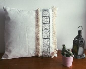 Bohemian Handmade Tassel Cushion