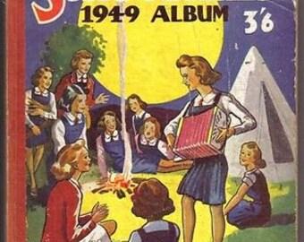 Vintage - Schoolgirls Album - 1949 (Gerald G Swan)