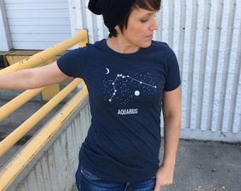 Scorpius Constellation Shirt - Starry Night - Astrology