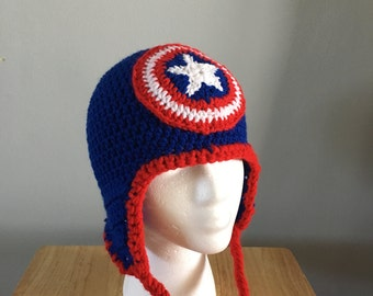 Crochet Superhero hats! Pick your favorite!