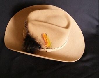 Stetson Cowboy Hat Vintage
