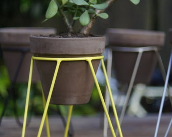 Metal Pot Stand for plants - Plant Stand -tripod large model