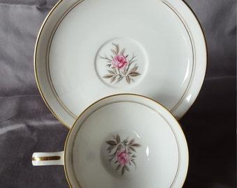 Tea cup and Saucer Noritake China 5510 Daryl