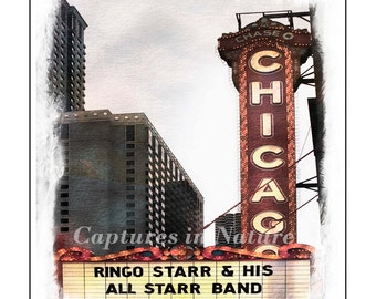 Chicago Theater / Printable 8x10
