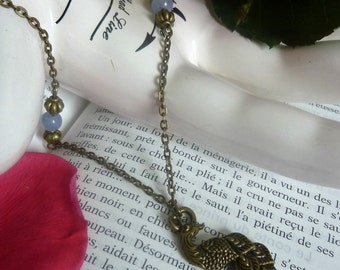 "Necklace ""Peacock"""