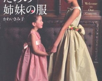 WELCOME To OUR CONCERTO Japanese Book Sewing patterns Girl clothes children dress