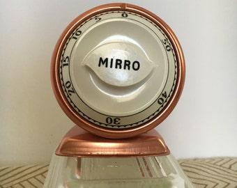 Mirro Aluminum Kitchen Timer Copper Pink