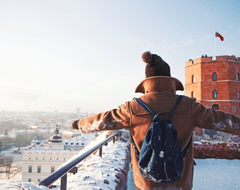 Winter Postcard from Vilnius