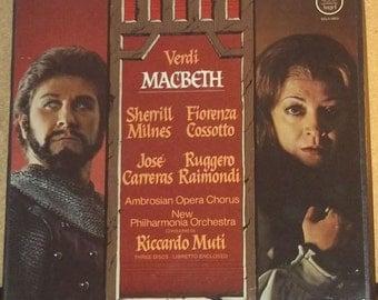 verdi macbeth riccardo muti sherrill milnes angel 3lp classical opera vinyl record box set