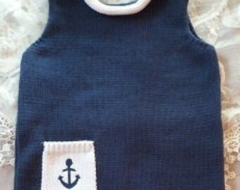 "Babystrampler ""Anchor"" """
