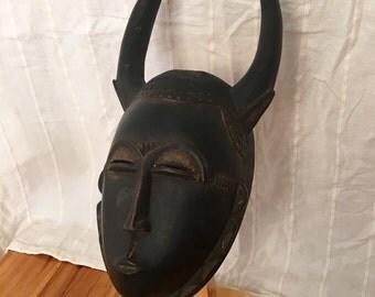 YAURE PORTRAIT MASK Mblo - Ivory Coast - African Tribal Art - Beautiful and perfect