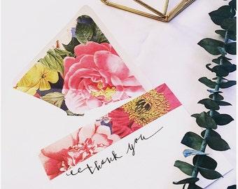 Fleur Notecard w/ Envelope