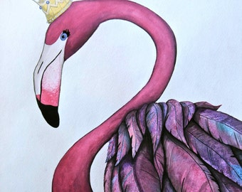 Queen of the Flamingos