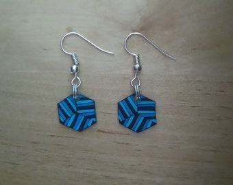Abstract earrings 3
