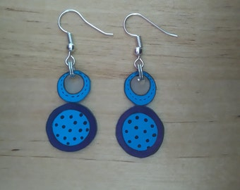 Abstract earrings 6