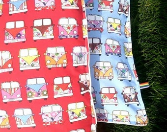 Hand made VW cushion covers 100% cotton