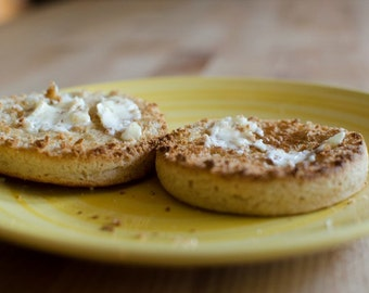 Gluten Free English Muffins (All Natural & Vegan)