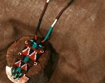 Native american jewelry, Native american necklace, Native american beadwork, Native american beaded jewelry