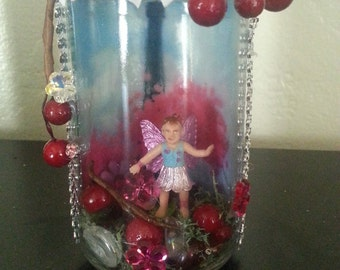 Captured Fairy in a Jar from Paris