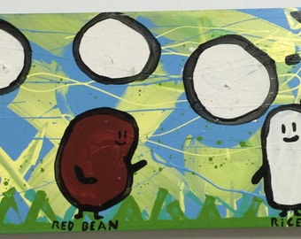 """Red Bean and Rice """"Canvas Intro"""""""
