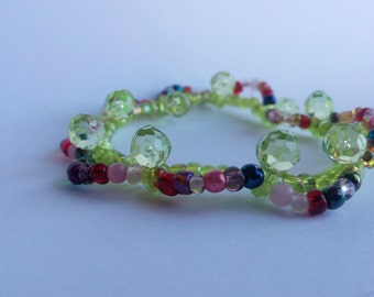 Light green and more... stretchy bracelet