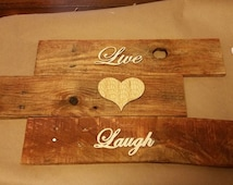 Rustic Signs (Can be any color and any wording)