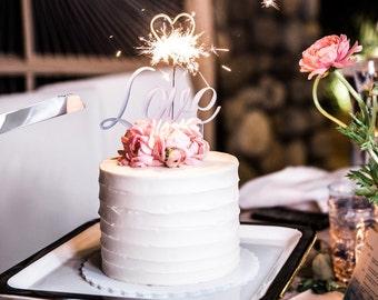 Custom Plexi Cake Topper